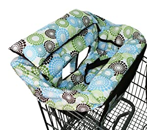 Buggy Bagg Elite Shopping Cart Cover, Round About