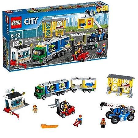 LEGO - 60169 - City - Jeu de Construction - Le terminal à conteneurs