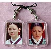 イ・ヨンエ 韓国製 ストラップ 2個セット A チャングムの誓い