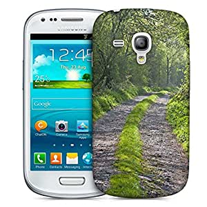 Snoogg Abstract Pathway Printed Protective Phone Back Case Cover For Samsung S3 Mini / S III Mini