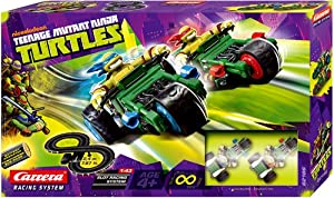 Nickelodeon Teenage Mutant Ninja Turtles Carrera Slot Car Race Set