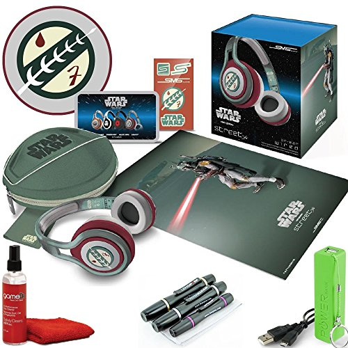 Star Wars Boba Fett Limited Edition Sms Audio By 50 Cent On-Ear Wired Street Headphones