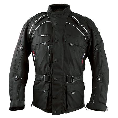 Roleff Racewear 7807 Blouson Moto Liverpool, Noir, XXXL