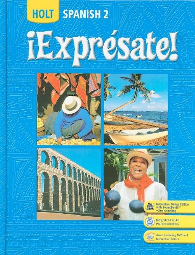 ¡Expresate!: Spanish 2 (Holt Spanish: Level 2) (Expresate 1 compare prices)