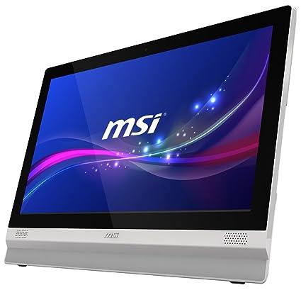"""MSI Adora24 2M-227XEU Ordinateur de bureau Tout-en-Un Tactile 23"""" (58,42 cm) Blanc (Intel Pentium, 4 Go de RAM, 500 Go, Intel HD Graphics)"""