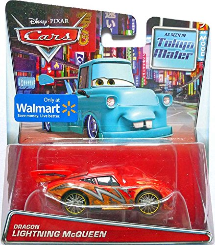 Disney Cars Dragon Lightning McQueen 1:55 Diecast Car