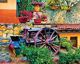 Colorful Courtyard Jigsaw Puzzle