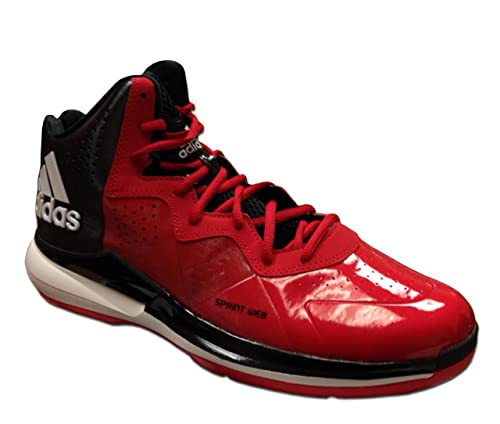 Adidas Basketball Shoes Red And White Shoes Red White Black 11