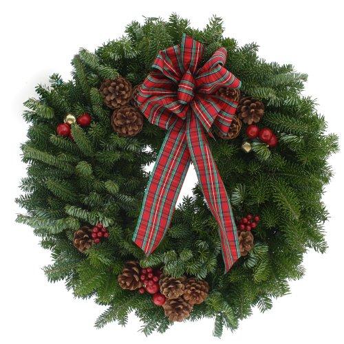Worcester-Wreath-20-Inch-Highland-Maine-Balsam-Wreath