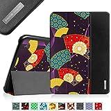 Fintie Samsung Galaxy Tab 4 10.1 Hülle Case - Ultra Schlank Superleicht Ständer Smart Shell Schutzhülle Tasche Cover mit Auto Schlaf / Wach Funktion für Samsung Galaxy Tab 4 10.1 SM-T530 SM-T535, Orientalische Fächer