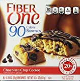Fiber One 90 Cal Brownie Chocolate Chip Cookie, 5.34 Ounce