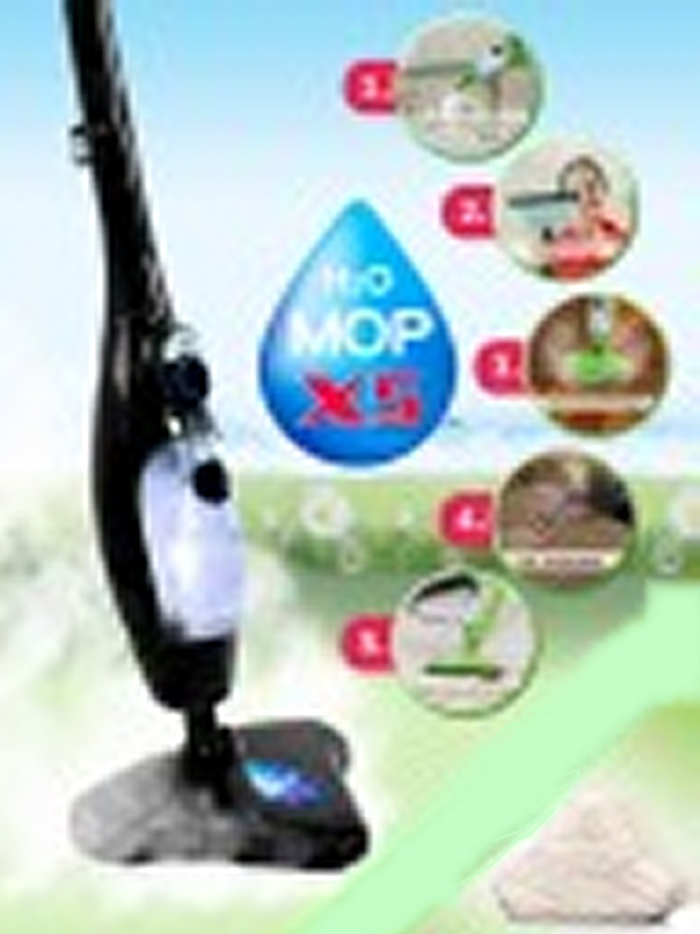 H2O MOP X5 Black Edition ORIGINAL AUS TV + Ebook Super ich bin Fit   Bewertungen und Beschreibung