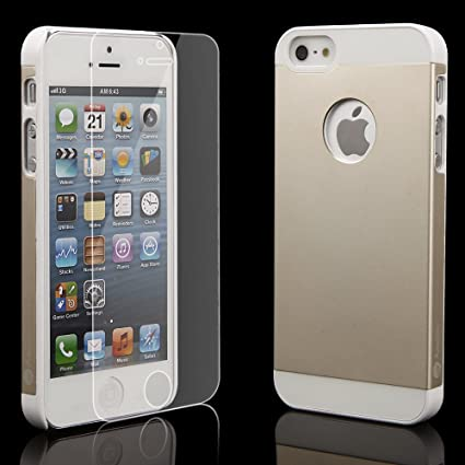 Clear Cases For Iphone 5s Gold Iphone 5/5s Gold Aluminum Case