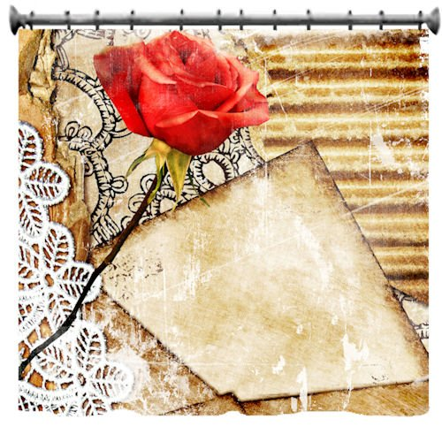 Inexpensive Vintage Romance Shower Curtain – 69″ X 70″ » Shop ...
