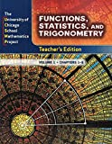 img - for UCSMP Functions, Statistics, and Trigonometry, 2-Volume Teacher's Edition book / textbook / text book