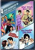 4 Film Favorites:Elvis Presley Girls: Girls! Girls! Girls!/ Easy Come Easy Go/ Trouble with Girls/ Girl Happy (DVD)