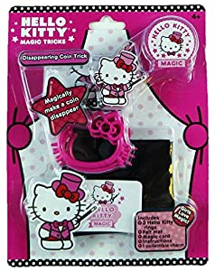 Hello Kitty Magic Tricks Playset: Disappearing Coin Trick