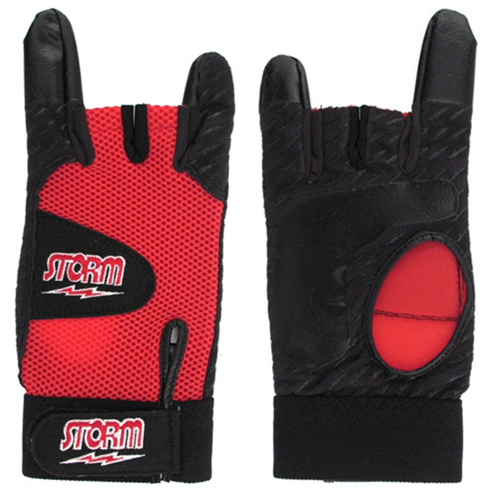 Storm Xtra Grip Glove Red/Black- Right Hand (Medium) volcom let it storm glove black