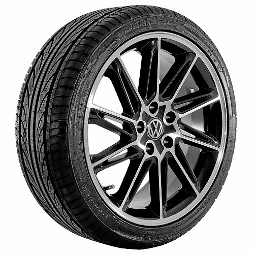 18 Inch black 285 Series Wheels Rims and Tires