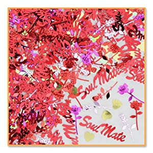 Beistle CN115 Soul Mate Confetti