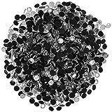 Darice 1000-Piece Crystal Hot Fix Glass Stones, 3mm