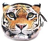 Amazon.co.jp【560kick】 虎 豹 ライオン 猛獣 リアル 小銭入れ (虎)
