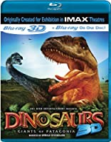 Dinosaurs: Giants of Patagonia (IMAX) [Blu-ray 3D] from IMAGE ENTERTAINMENT