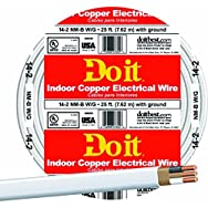 Southwire 28827417 Do it Nonmetallic Sheathed Cable-25' 14-2 NMW/G WIRE