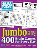 img - for USA TODAY Jumbo Puzzle Book 2: 400 Brain Games for Every Day (USA Today Puzzles) book / textbook / text book