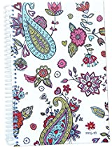 2015-16 Academic Year bloom Daily Day Planner Fashion Organizer Agenda August 2015 Through July 2016 Paisley Hearts