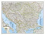 National Geographic Maps The Balkans Classic, tubed Wall Maps Countries & Regions (National Geographic Reference Map)