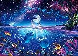 2000ピース ジグソーパズル パズルの超達人EX ラッセン 星に願いを スーパースモールピース 【光るパズル】(38x53cm)