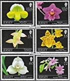 Gran Bretaña-Jersey 1554-1559 (completa.edición.) 2011 orquídeas (sellos para los coleccionistas)