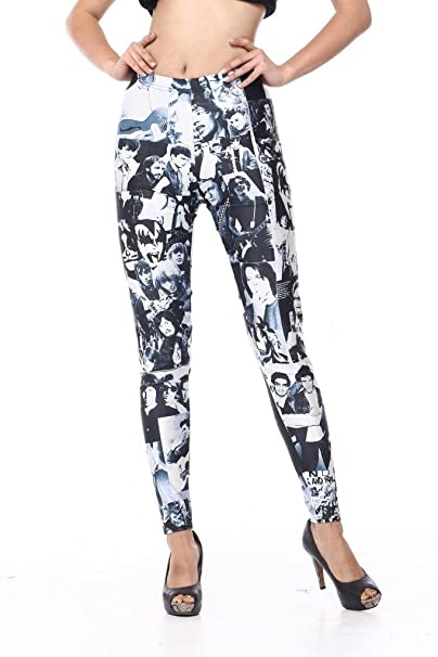 Voglee- Women's New Fashion Leggings with Variaty Printing