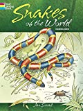 Snakes of the World Coloring Book (Dover Nature Coloring Book)