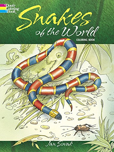 Snakes of the World Coloring Book (Dover Nature Coloring Book) (Snake Books For Kids compare prices)
