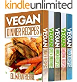 5 Super-Healthy Vegan Recipe Books: 125 Recipes That Will Heal Your Organism and Keep You in Shape