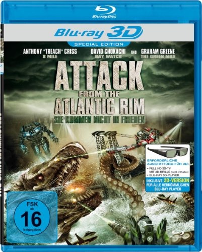 Attack from the Atlantic Rim - Ungeschnittene Fassung [3D Blu-ray] [Special Edition]