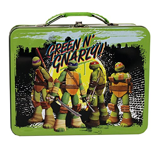 The Tin Box Company Teenage Mutant Ninja Turtle Large Carry All Tin