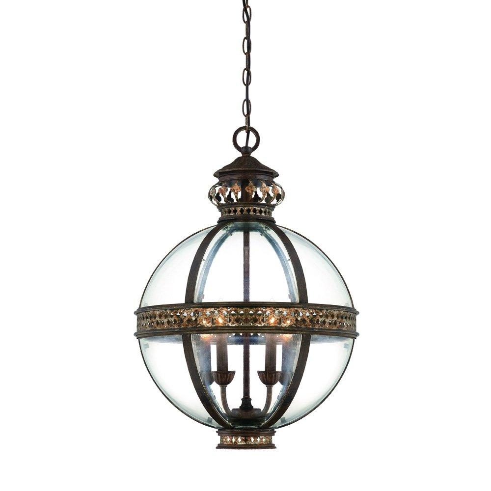 Savoy House Europe 7-1481-4-124 French Globe Pendelleuchte 4-flammig 60 W E14