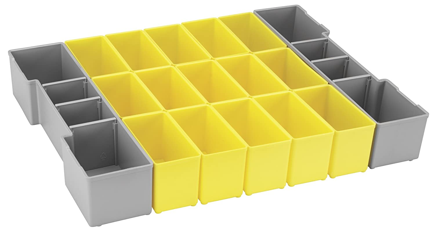 Bosch Bosch ORG1A-YELLOW Organizer Set for L-BOXX-1A, Part of Click and Go Mobile Transport System, 17-Piece bosch bosch 10 zhi отвертка головы set easy успеха зеленый [6949509201188]