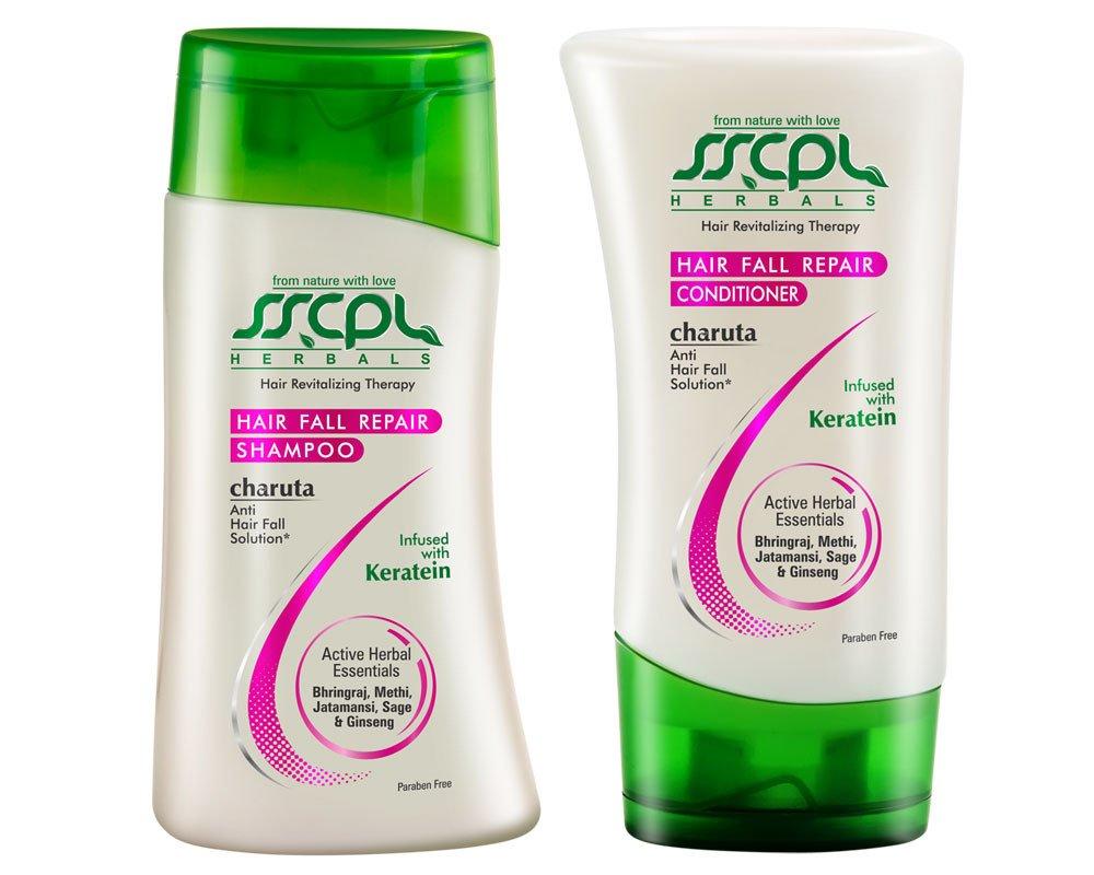 SSCPL Herbals SSCPL Herbals HAIR FALL REPAIR SHAMPOO + CONDITIONER, Combo Pack