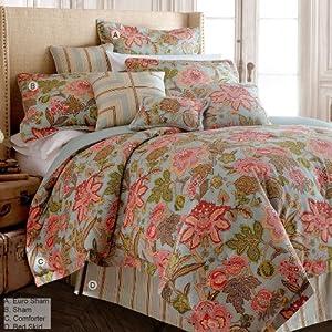 Rose Tree Briarwood Blue Comforter Set King