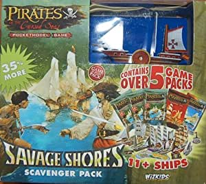 Pirates of the Cursed Seas Pocketmodel Game (Savage Shores Scavenger Pack)