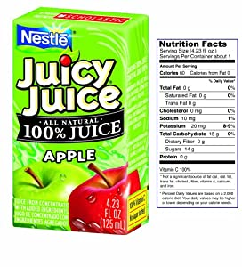 Amazon.com: Nestle Juicy Juice, Apple, 4.23-Ounce Boxes (Pack of 40