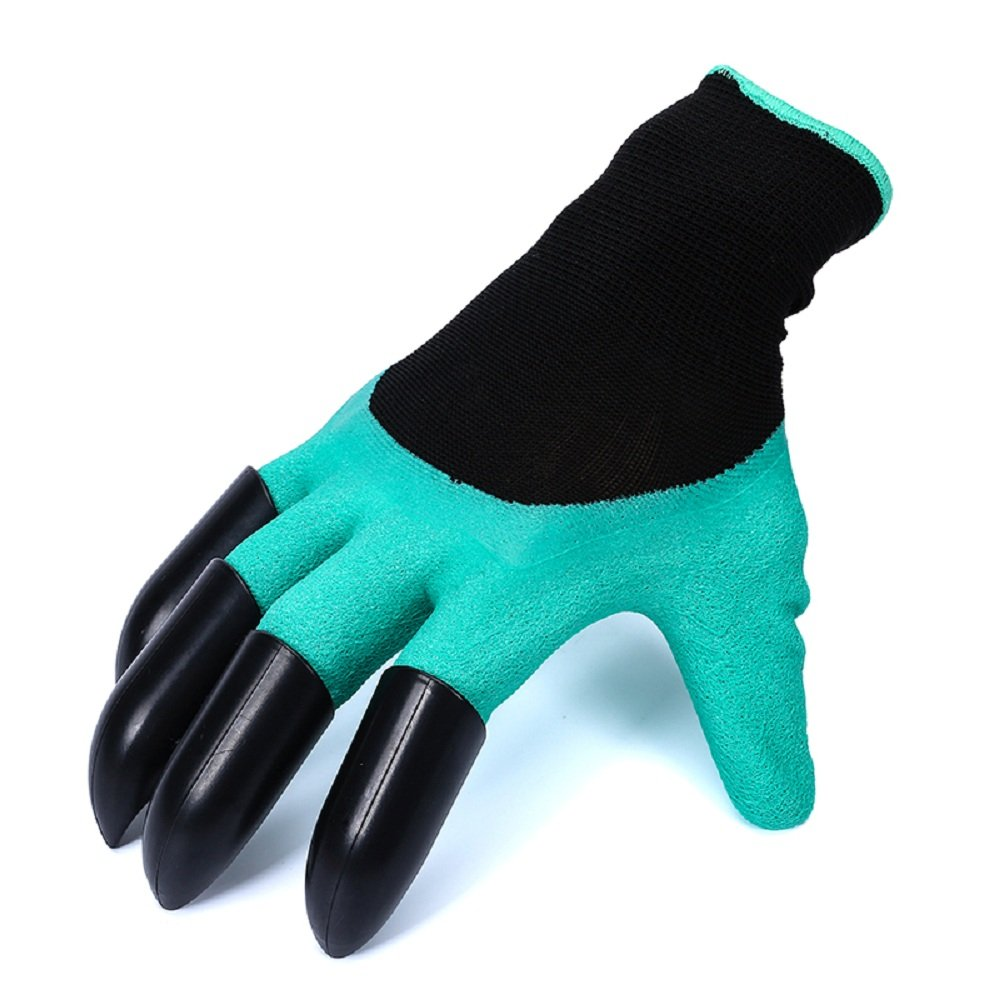 Garden Genie Gloves【2 pack】- FengNiao Garden Gloves with Claws Gardener Gloves for Digging and Planting