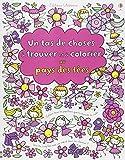 Un tas de choses à trouver et à colorier : Au pays des fées