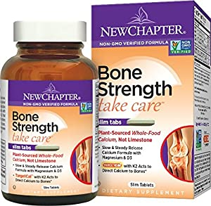 New Chapter Bone Strength Take Care, Calcium Supplement - 120 ct
