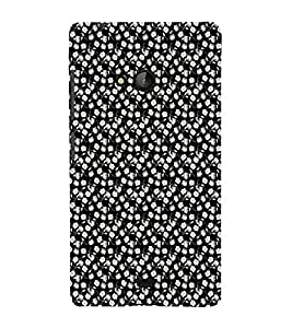 iFasho Modern Art Design animated cloth Pattern of small flower Back Case Cover for Nokia Lumia 540