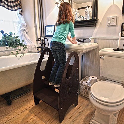 The Growing Step Stool By Little Partners Espresso 208 3